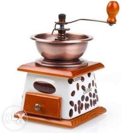 Кофемолка ручная с ящиком Empire EM-2361