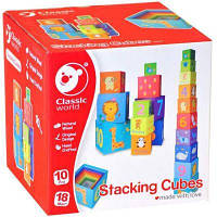 Картонные кубики трансформер Classic World