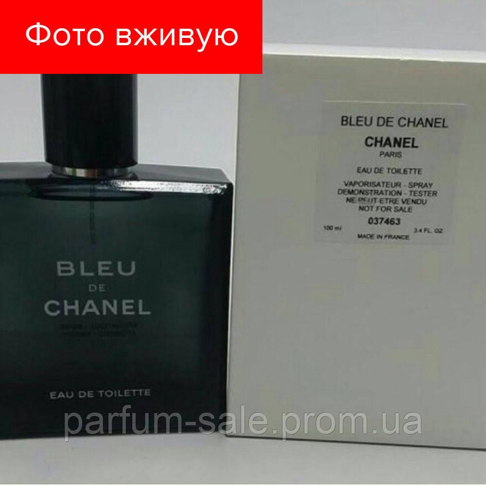 100 Ml Tester Chanel Bleu De Chanel Men Eau De Toilette тестер