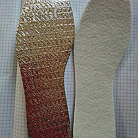 Термостелька зимния с алюминиевой фольгой 40/41