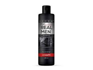 """Шампунь """"Liora"""" For Real Men Hunter для нормальных волос 250 мл. 24шт. / Ящ"""