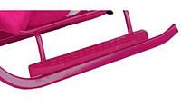 Подножка к санкам Adbor Piccolino (розовый)