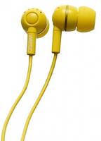 Наушники WESC Kazoo Dendellion Yellow
