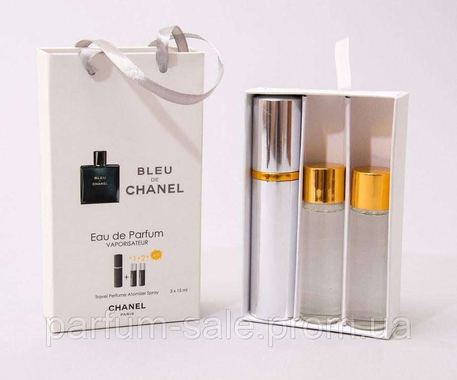 45 Ml 3x15 Chanel Bleu De Chanel Eau De Parfume женские духи