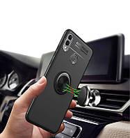 Стильный чехол Auto Focus с магнитным держателем для Huawei Mate 20 lite
