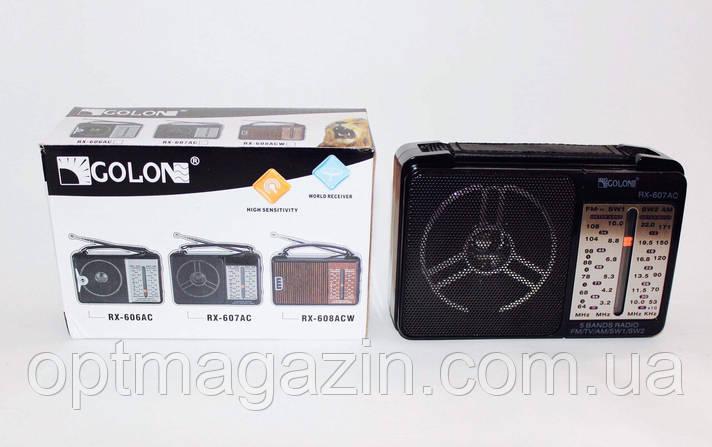 Радіоприймач GOLON RX-A607AC, фото 2