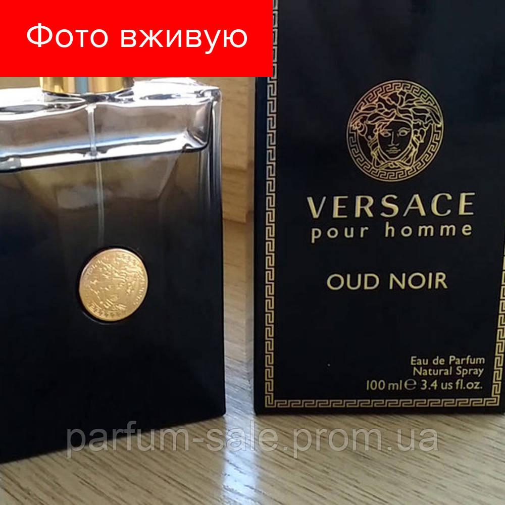 100 Ml Versace Pour Homme Oud Noir. Eau De Parfum  a15ee9425af75