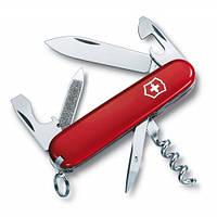 Victorinox Викторинокс нож Sportsman 13 предметов 84 мм красный