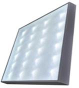Светодиодный светильник офисный армстронг с призматическим стеклом 28W 220V IP40 LG