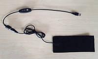 Нагревательные элементы в обувь / перчатки /  №1 - USB реостат, кнопка
