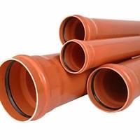 Труба наружная канализация Инстал KAN ПВХ 3.2 с раструбом  110 х 3000