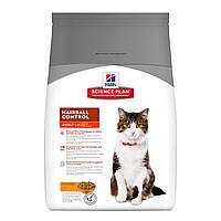 Hill`s SP HAIRBALL CONTROL 1.5 кг - корм для кошек для выведение шерсти