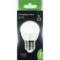 Лед лампы Led Original 6W G45 Е27 4100K
