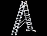 Лестница универсальная 2-х секционная TRITON-tools 8ступ.