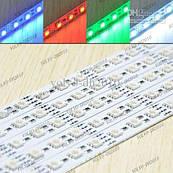 Светодиодная линейка RGB SMD 5050 72LED/m, негерметичная IP20