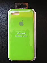 Apple Silicone Case iPhone 7/8 Lime Green
