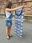 Складной коврик для фитнеса Разминка 180х60х1см, серый, фото 2