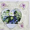 Фоторамка «Два сердца» 11,5х24 см., фото 2