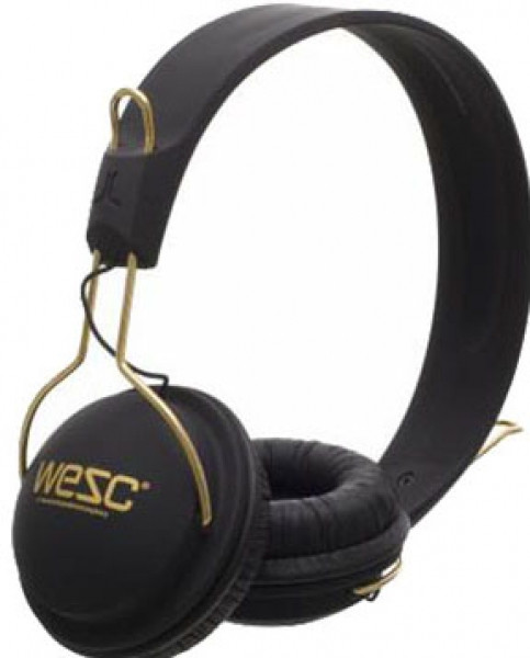 Наушники WESC Tambourine Golden Black - A99.com.ua в Киеве