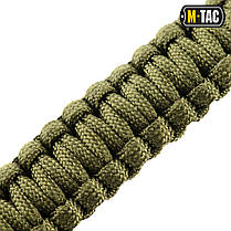 M-Tac браслет паракорд с искровысекателем, компасом и свистком олива, фото 2