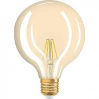 Лед лампа OSRAM LED Vintage 1906 Flament Globe 4W E27 2400K 230V