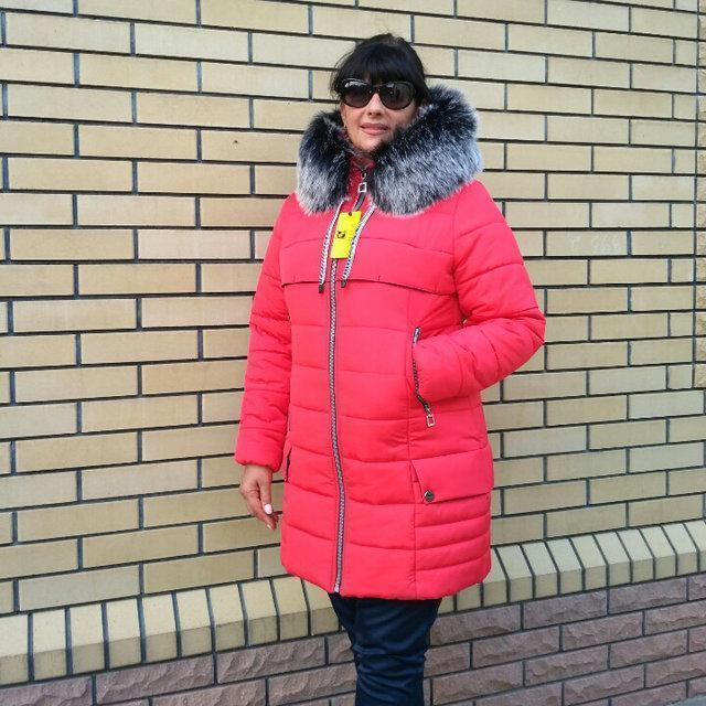 Женская зимняя куртка, размеры 48 - 56
