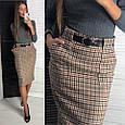 Твидовая юбка карандаш, фото 6