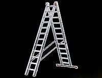 Лестница универсальная 2-х секционная TRITON-tools 10ступ.