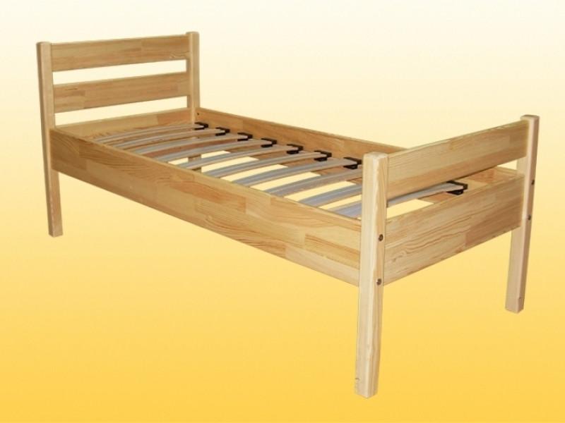 Кровать детская деревянная одноместная без матраца 1456х660х665 мм