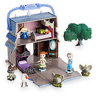 Анна и Эльза Disney Animators Collection Littles Frozen Micro Doll Play Set игровой набор