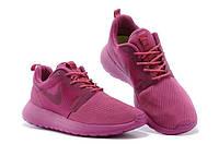 Кроссовки женские Nike Roshe Run Hyperfuse розовые