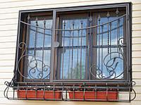 Решетка на окно луковичная