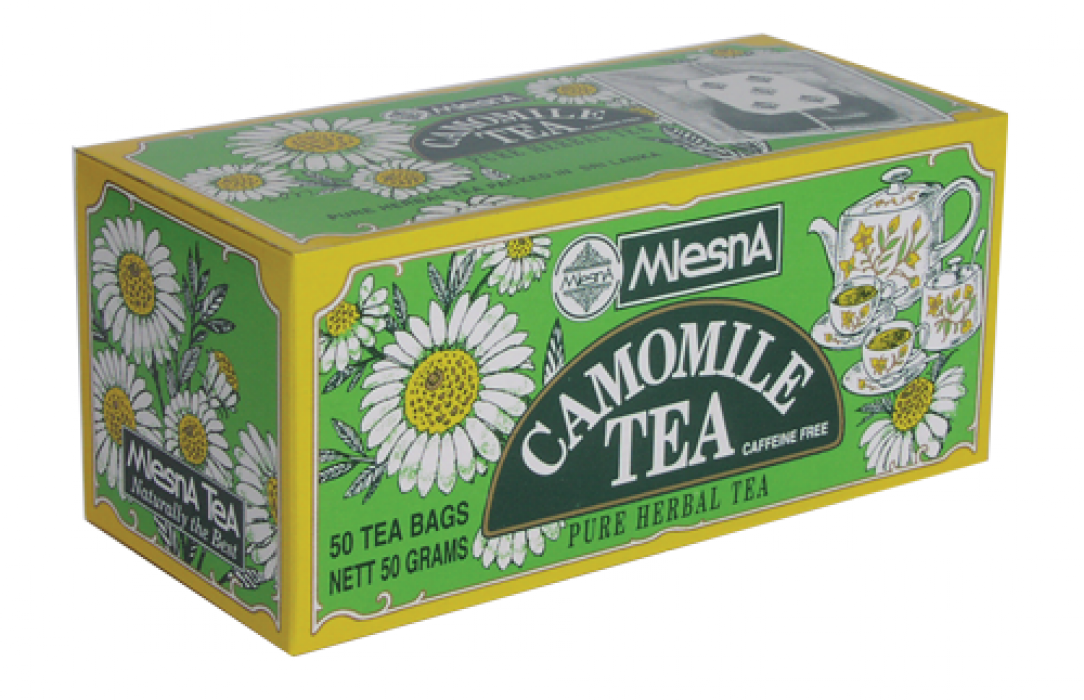 Чай ромашка, CAMOMILE TEA, Млесна (Mlesna) 50г.