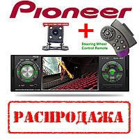 "Автомагнитола Pioneer 5120B Bluetooth - 4,1""; LCD TFT USB+SD DIVX/MP4/MP3 + ПУЛЬТ НА РУЛЬ+КАМЕРА!"