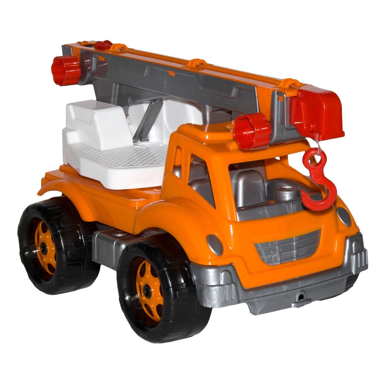 """Іграшка машина """"Автокран ТехноК"""", артикул 4562, Технок 36 х 21 х 20 см"""