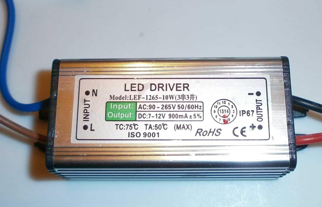 Драйвер мощного светодиода HB(4-7)x1Вт DC10-28V AC85-265V 300mA