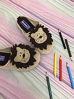 Детские домашние тапочки Инблу,натуральные и удобные (качество!)
