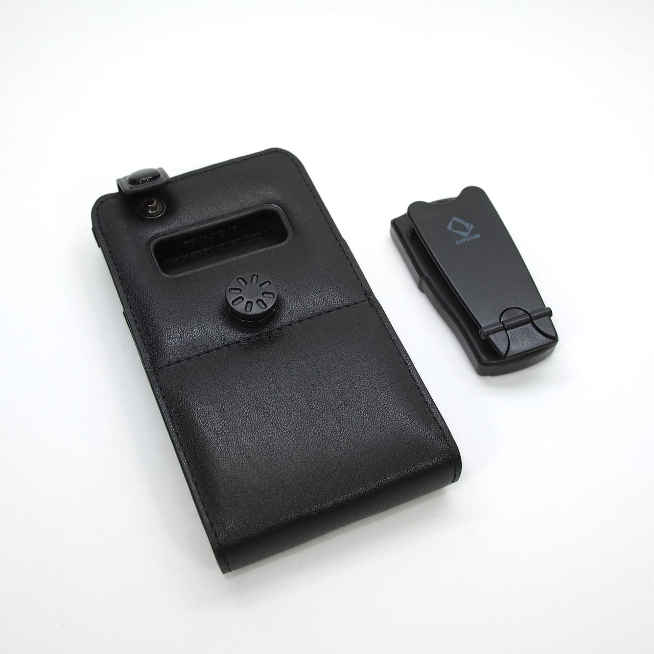 Чехлы для Nokia Capdase FlipTop Leather X7 black Для телефона