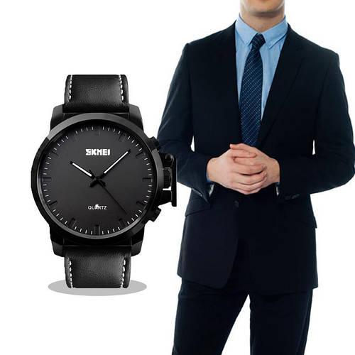 • Оригинал ! Мужские часы Skmei 1208|Классические Мужские часы