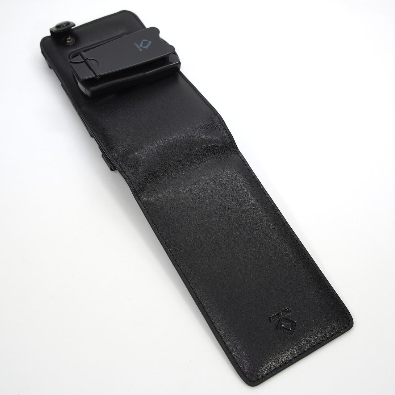 Capdase FlipTop Leather Nokia X7 black Для телефона