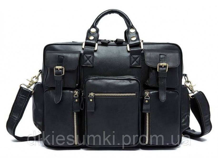 d619d946e43a Мужская кожаная сумка на каждый день Tiding Bag 7028A-1 в Интернет ...