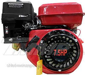 Двигатель мотоблока / генератора 178F  d=25 mm под шлиц