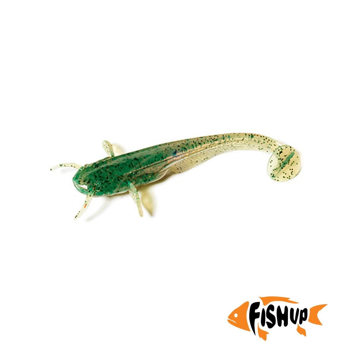 """Catfish 3"""" (8шт), #017 - Motor Oil Pepper"""