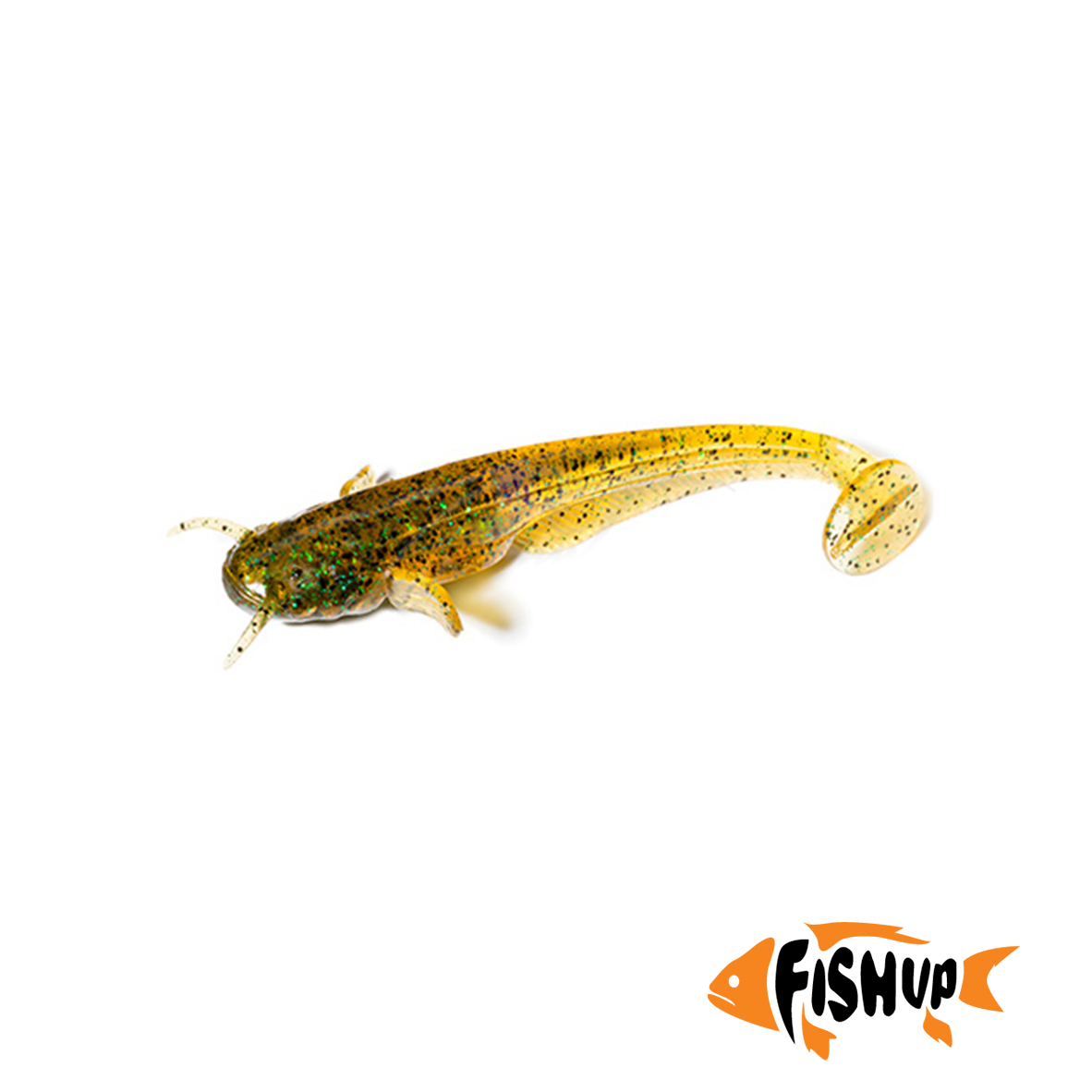 "Catfish 3"" (8шт), #036 - Caramel/Green & Black"