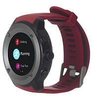 Спортивные часы ERGO SPORT GPS HR WATCH S010 red (black)