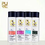 Кератин + шампунь глубокого очищения PURC Keratin Treatment 100 ml + Shampoo 100ml (набор), фото 3