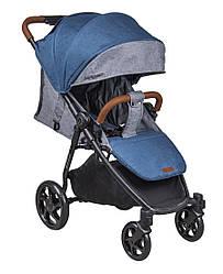 Детская прогулочная коляска Coletto Nevia, джинс (8964)