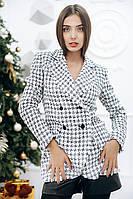 Женский пиджак из твида