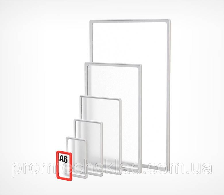 PF- A1 Рамка пластиковая стандартная с закругленными углами