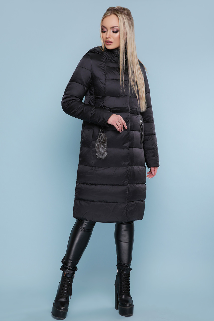 Куртка женская зимняя размеры 42-52 зеленый атлас